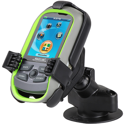 RAP-SB-178-MA15U - RAM Flex Adhesive Dashboard Mount for Magellan eXplorist + More