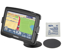RAP-SB-180-TO10U - RAM Lil Buddy Adhesive Dash Mount for TomTom Start 55, XXL 550 + More