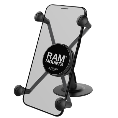 RAP-SB-180-UN10 - RAM LIL' BUDDY MNT LG RAM X-GRIP HOLDER