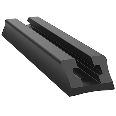 "RAP-TRACK-DR-4U - RAM Tough-Track - End Loading Composite 4"" Track"
