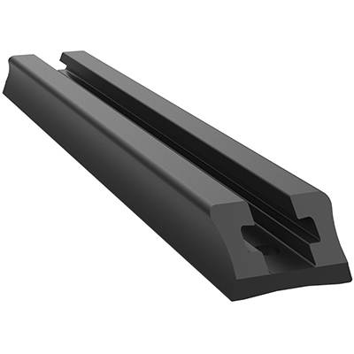 "RAP-TRACK-DR-6U - RAM Tough-Track - End Loading Composite 6"" Track"