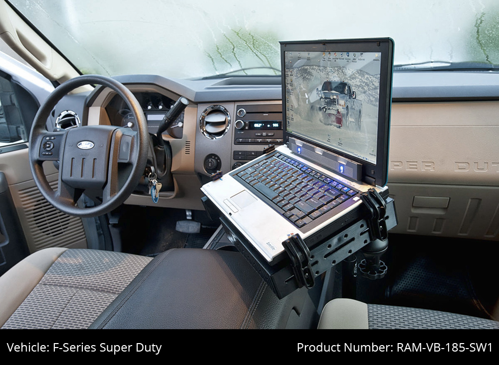 Homemade unimount laptop mount for cars Make
