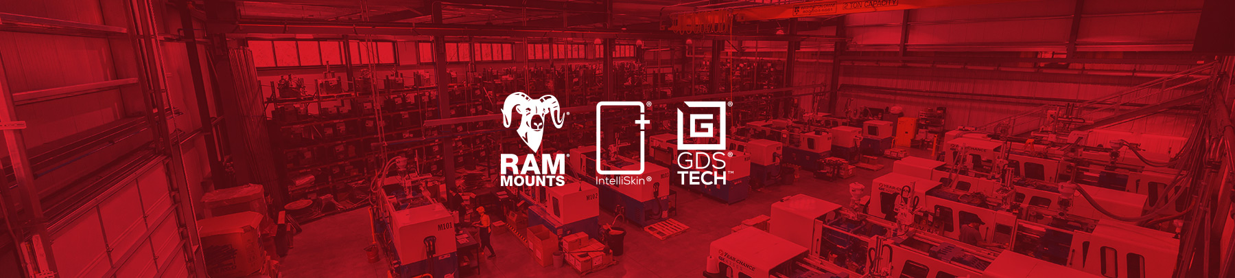 RAM® Mounts, Intelliskin®, GDS® Technology
