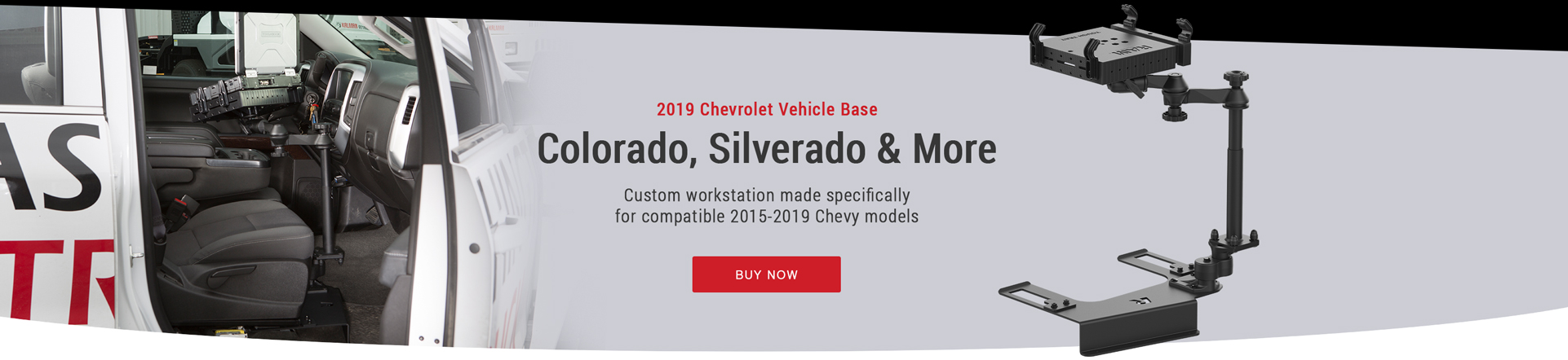 Custom workstation for compatible 2015-2019 Chevy models