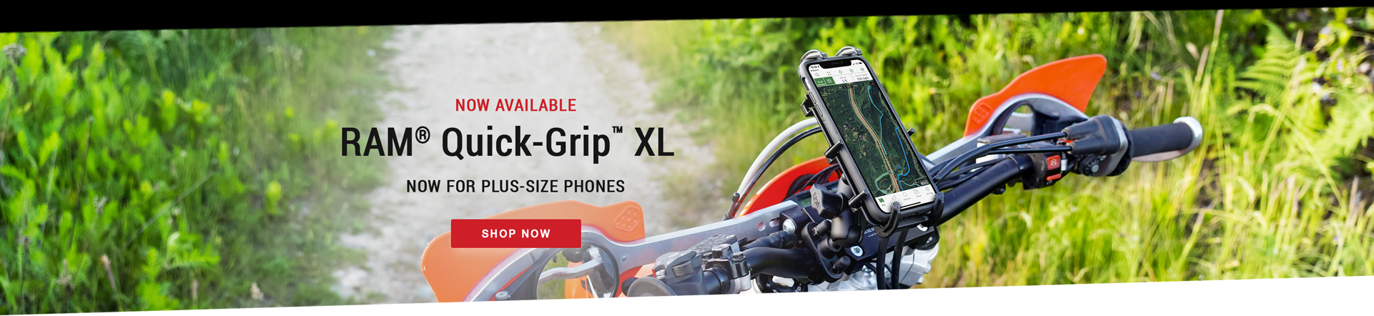 RAM® Quick-Grip™ XL Now For Plus Size Phones