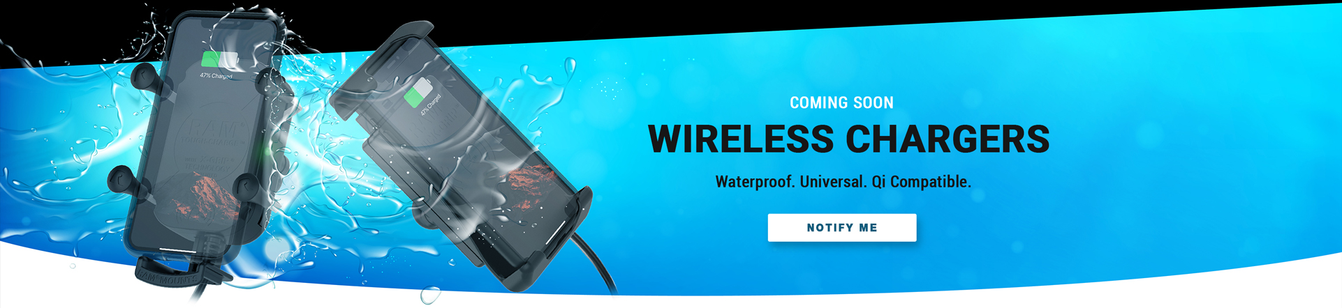 Wireless Waterproof Chargers Coming Soon