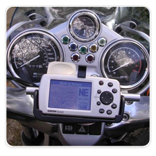 BMW R1100R/R850R mount for Garmin Quest