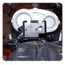 Garmin Nuvi 500 Motorcycle Mount BMW G650GS