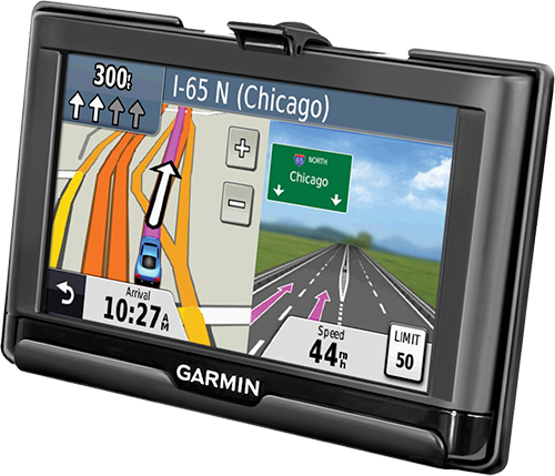 Personal Navigation GPS in EZ Roller