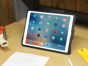 iPad in intelliskin with kickstand