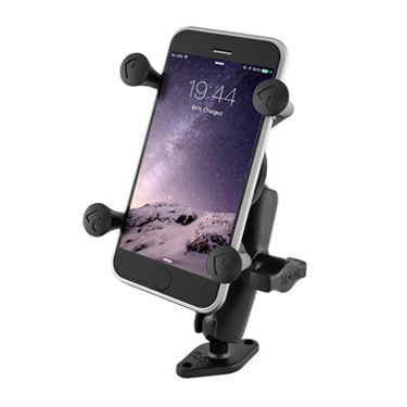 "RAM 1"" Ball Mount with Diamond Base & Universal X-Grip® IV Large Phone/Phablet Holder"