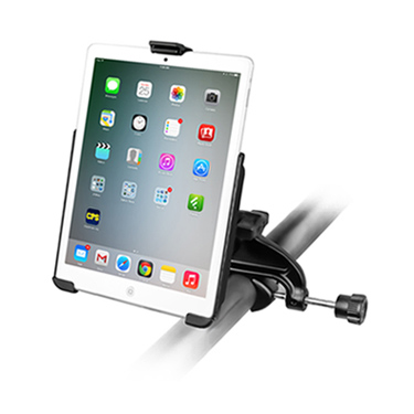 RAM Yoke Clamp Mount with EZ-ROLL'R™ Model Specific Cradle for the Apple iPad mini 1-3