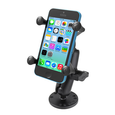 RAM Flat Surface Mount with Universal X-Grip® Cell/iPhone Holder