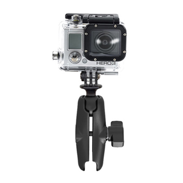 GoPro® Hero Adapter with Double Socket Arm