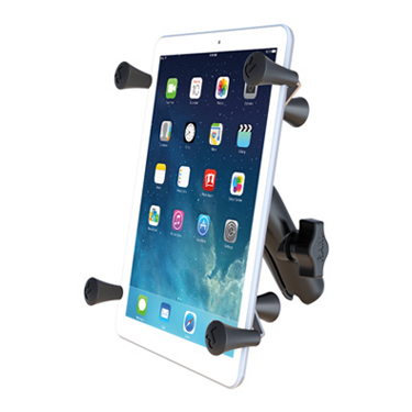 "RAM Universal X-Grip® 7"" Tablet Cradle with Double Socket Arm"