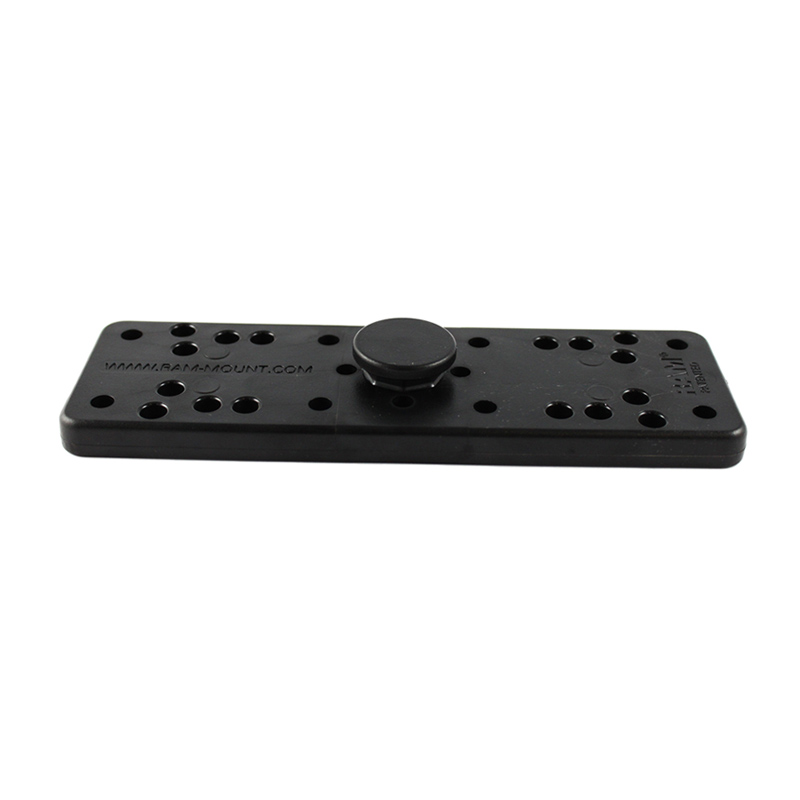 "RAM 2"" x 6"" Rectangle Base with Octagon Button"