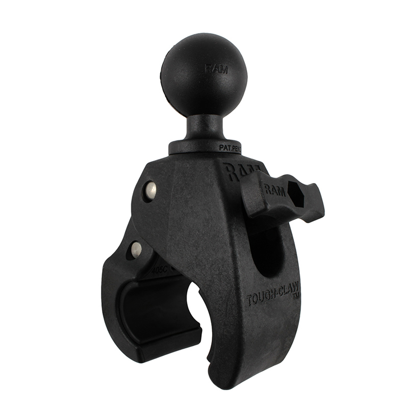 "RAM Medium Tough-Claw™ with 1.5"" Diameter Rubber Ball"