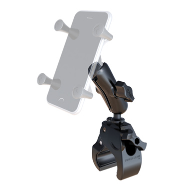 "RAM 1"" Diameter Ball Standard Length Double Socket Arm with Small Tough-Claw™ Base"