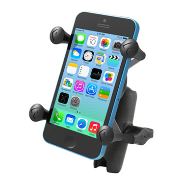RAM Universal X-Grip® Cell Phone Cradle with Double Socket Arm