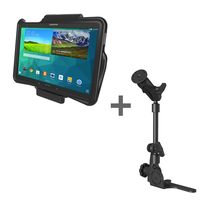 RAM POD HD™ Mount with GDS® Vehicle Dock and IntelliSkin™ for the Samsung Galaxy Tab S 10.5