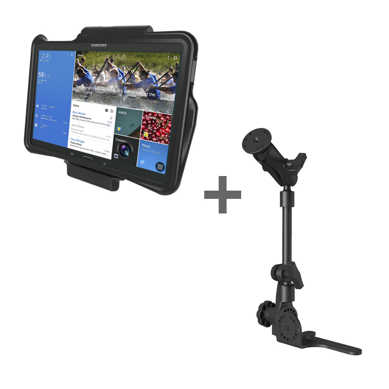 RAM POD HD™ Mount with GDS® Vehicle Dock and IntelliSkin™ for the Samsung Galaxy Tab Pro 12.2