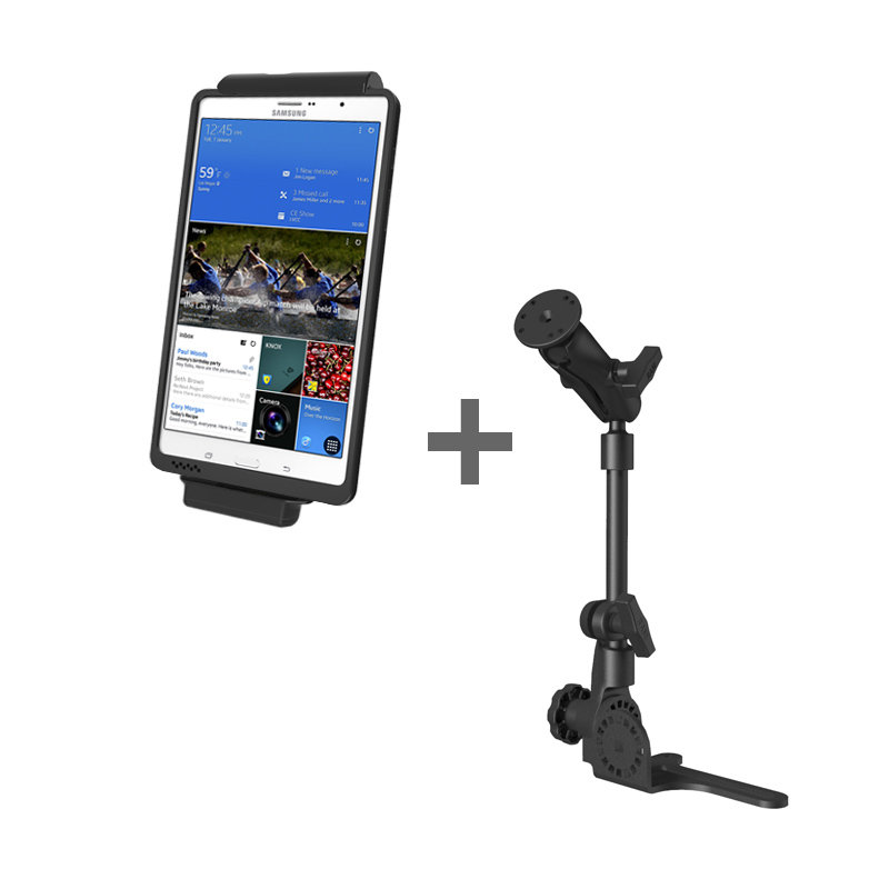 RAM POD HD™ Mount with GDS® Vehicle Dock and IntelliSkin™ for the Samsung Galaxy Tab S 8.4