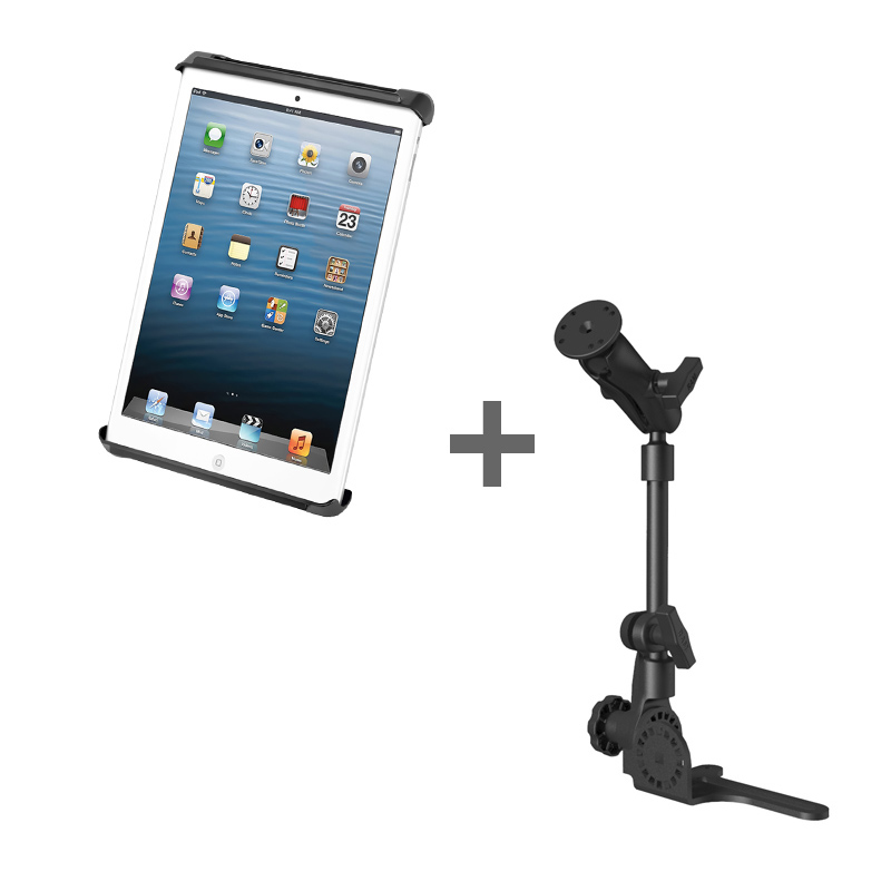 "RAM POD HD™ Mount with Tab-Tite™ Cradle for 7"" Tablets WITH OR WITHOUT LIGHT DUTY CASE"