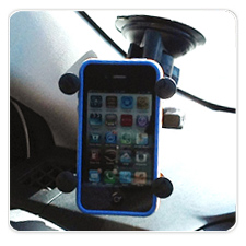 X-Grip Suction Cup Mount for iPhone